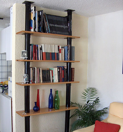 Vertical Shelves